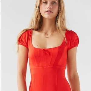 Urban Outfitters cap sleeve dress